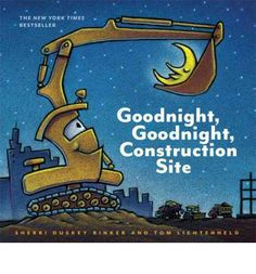 A bedtime book for settling down preschool-aged truck lovers--a godsend for parents of rambunctious boys!