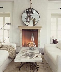 marble table | Erin Martin Design - Projects