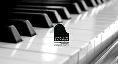 Logo design for Piano & Flute teacher including a business card design and poster.