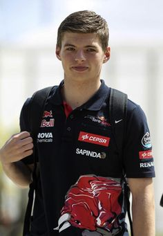He may not be old enough to drive solo on public roads, but Max Verstappen proved he is a threat to Formula One's best by qualifying a remarkable sixth for the Malaysian Grand Prix. Formula 1, Show Up, F1 Drivers, Giving Back, Grand Prix, Cute Boys, Race Cars, Cool Photos, Racing