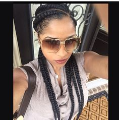 Toya Wright A good look for summer