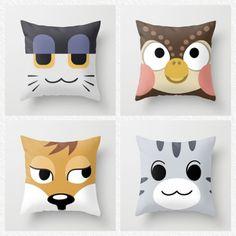 Animal crossing pillows