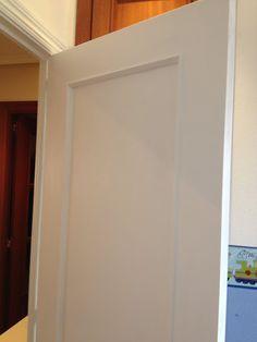 Adios al sapely, pintar puertas de blanco ~ Juntitoscrafts punto y manualidades
