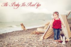baby in red ruffled top tutorial