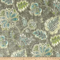 Find Tommy Bahama® Home Tahitian Dawn Agate Home Décor Fabric at Michaels. This versatile fabric is great for window treatments, duvet and sham covers, throw pillows, light upholstery, and more. Tommy Bahama, Agate, Home Decor Fabric, Coastal Fabric, Coastal Decor, Upholstered Furniture, Outdoor Fabric, Fabric Swatches, Green And Grey