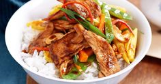 For a quick family meal that's ready when you are, try this spicy chicken stir-fry.