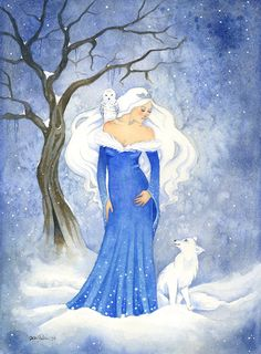 Hey, I found this really awesome Etsy listing at https://www.etsy.com/listing/218198731/fairy-tale-art-print-the-snow-queen