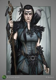 Fantasy Women, Fantasy Rpg, Medieval Fantasy, Fantasy Girl, Fantasy Artwork, Dark Fantasy, Elves Fantasy, Dungeons And Dragons Characters, Dnd Characters