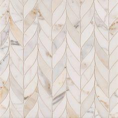 this tile, the fish paper and i'm a happy girl Benton Braid Calacatta Borghini Stone Mosaic, Mosaic Tiles, Tiling, Mosaic Backsplash, Kitchen Backsplash, Backsplash Ideas, Kitchen Reno, Kitchen Ideas, Quartz Backsplash