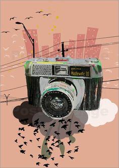 #Vintage #Camera #art