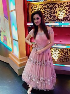 Rashmi Desai in Yoshita Couture Celebrity Outfits, Celebrity Style, Indian Princess, Beautiful Indian Actress, Stylish Girl, Indian Wear, Indian Beauty, Indian Actresses, Designer Dresses