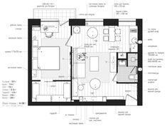планировка квартиры для DJ