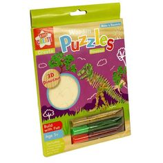 Fun Stocking Fillers - Gifts for Children at Kids Do Travel - Dinosaur Puzzle for Children http://kidsdotravel.co.uk/gifts-for-children-under-10/wooden-dinosaur-puzzle