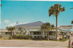 Strickland's Restaurant Jax Beach location, they also had one in Mayport.