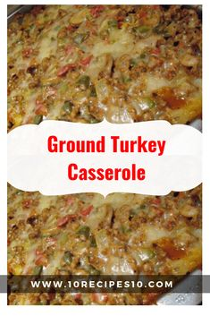 Recipes With Ground Turkey Meat - Recipes With Ground Turkey Recipe With Ground Turkey And Rice, Ground Turkey Meat Recipes, Ground Turkey Sausage, Turkey Crockpot Recipes, Healthy Ground Turkey, Sausage Recipes, Ground Turkey Enchiladas, Ground Turkey Casserole, Ground Turkey Tacos