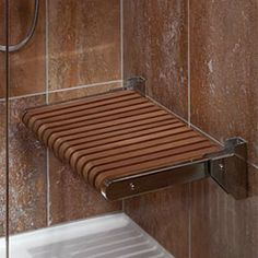 Hospitality Design - Shower seat from MTI