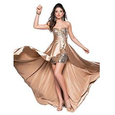 Women Ladies Beaded Front Short Long Back Evening Prom Party Dress Evening Gown Champagne Small Duoduo888 http://www.amazon.com/dp/B00R98MFOK/ref=cm_sw_r_pi_dp_Igo1ub15QX72X