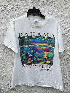 Vintage Over Print T-Shirt,Boy T Shirt,Size XS-2XL Big,Colorful Vintage Suitcase