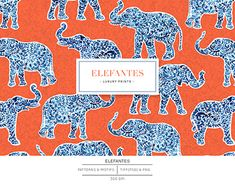 Elephant Print, Surface Pattern Design, Beautiful Patterns, Textile Design, Print Patterns, Paisley, How To Draw Hands, Textiles, Kids Rugs