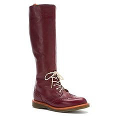 Dr Martens Moya Tall Brogue Boot found at #OnlineShoes