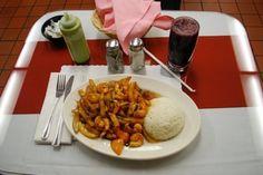 Mario's Peruvian & Seafood - Los Angeles, California - try the lomo saltado