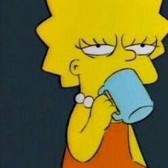 New Memes Apaixonados Simpsons Ideas Lisa Simpson, Simpson Wave, Bart Simpson High, Cartoon Icons, Cartoon Memes, Funny Memes, Cartoons, Simpsons Meme, The Simpsons