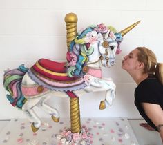 You will love these Rainbow Unicorn Cake Ideas and we have found some incredible ideas that you will love. Check them all out now. Gorgeous Cakes, Pretty Cakes, Cute Cakes, Amazing Cakes, Gravity Defying Cake, Gravity Cake, Crazy Cakes, Fancy Cakes, Cake Pops