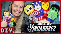 Fantoche dos Vingadores - DiY Geek