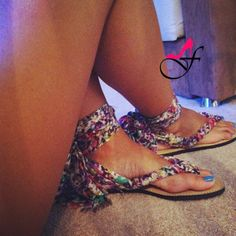 diy flip flops | DIY Flip-Flops Courtesy of Pinterest | Fashion Feen
