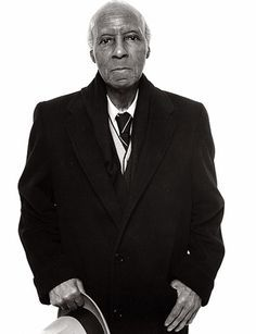 Richard Avedon - A. Philip Randolph, Founder, Brotherhood of Sleeping Car Porters, New York, April 1976 Richard Avedon, Black History Facts, Civil Rights Movement, African Diaspora, My Black Is Beautiful, Before Us, African American History, My People, Black People