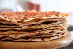 Turkish Food & Recipes: Lahmacun