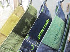 Jacob Cohen ponyskin back label #JacobCohen #denim #jeans #tailoredjeans #menswear #fashion