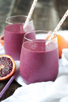 Blood Orange, Beet and Berry Smoothie and a Blender Story