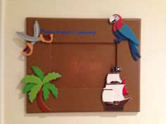 Pirate picture frames