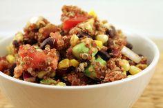 southwest veggie quinoa