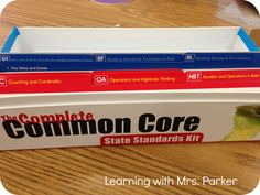 """My favorite part about these cards are the """"I can"""" statements.  I love them because it makes understanding the standards comprehensible. 