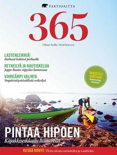 Partioaitta 365 #1 2015  Partioaitan 365-lehti, numero 1/2015. Outdoor Magazine, Movies, Movie Posters, Films, Film Poster, Cinema, Movie, Film, Movie Quotes