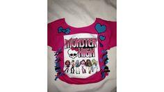 Monster High Bday Shirt