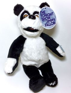 Universal Studios Jimmy Fallon Race Through New York Hashtag Panda Plush Toy