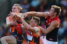 Cam McCarthy Photos: AFL Rd 2 - GWS v Melbourne