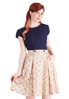Modern Romance Skirt from ModCloth on Catalog Spree