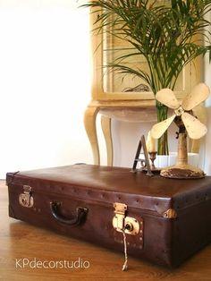 Maleta de viaje antigua Ref. M31 ** Vintage suitcase