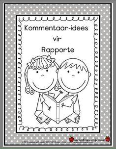 Kommentaar idees vir rapporte.