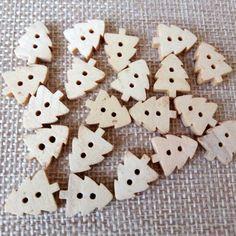 Mixed Butterfly Naturel en Bois Bois Boutons Zakka Sewing Craft 5 10 20 50 100