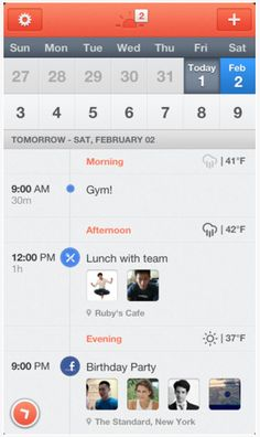Sunrise: The best calendar app for iPhone. Hurry and get it while it's free!