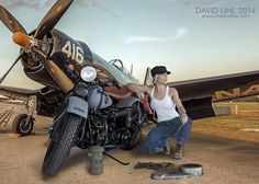 David Uhl, wonderful bike artist.