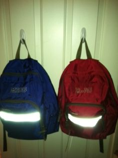 Command Hooks are a great way to get your backpack up off of the floor
