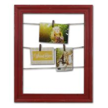 "Clip Frame by Studio Décor Pin It Collection, 16"" x 20"" Red"