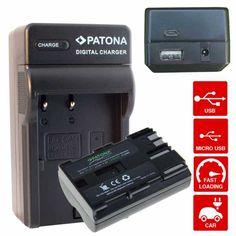 Las baterías PREMIUM y cargadores PATONA estan fabricados con componentes de alta calidad siguiendo unos exigentes estaacute;ndardes de calidad. Nuestros cargadores 4in1 innovadores para baterías de camara foto / vídeo - equipados con un processador para verificar el nivel de carga de la batería