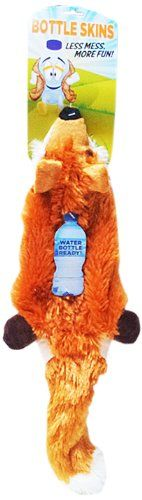 cat Qwerks Bottle Skins, Fox >>> For more information, visit now : Cat toys